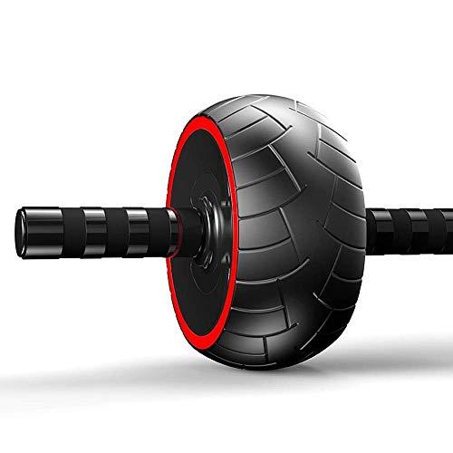 Rueda abdominal, rueda abdominal Mujer Hombre equipo de la aptitud del hogar del rodillo del vientre de la rueda Silencio Abdomen rodillo fino reducción de la cintura de estómago Rueda de ejercicio mu