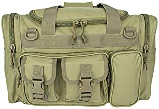 OSAGE RIVER Tactical Duffle Bag with Shoulder Strap and Carry Handles, Coyote Tan