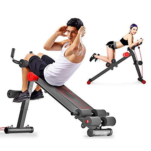 CHIYA Faltbare Fitnessgeräte Bauchmuskelgerät, Höhenverstellbarer Bauchmuskeltrainer, AB-Trainingsgerät, Bauchübung, Taille, Arme, Beine Usw.