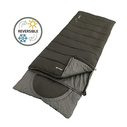 Outwell Contour Lux Supreme Schlafsack, Coffee