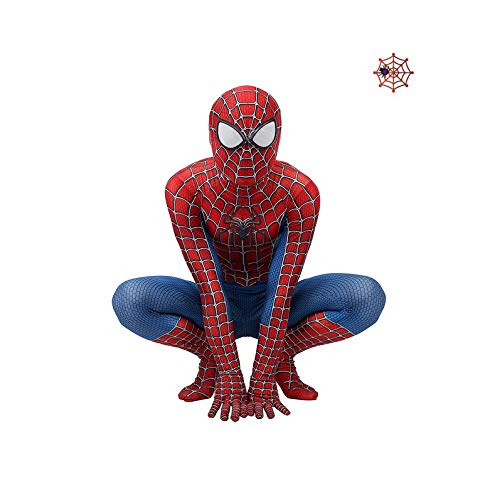 Halloween Spiderman Kostuum Kids Carnaval Superhero Lycra Bodysuit Kerst Kostuums Avengers Jumpsuits Mannen X-Small Child