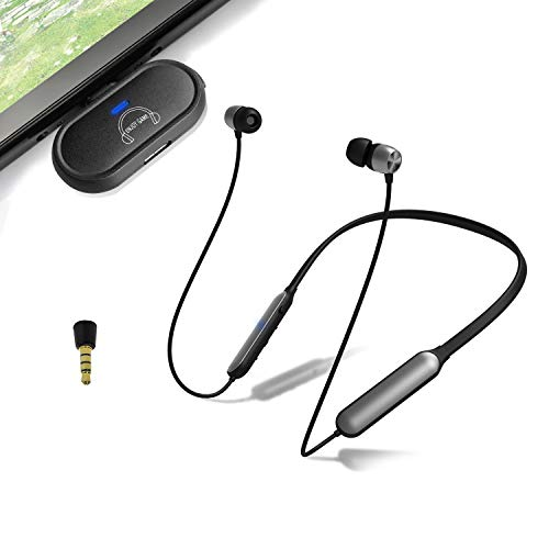 Giveet Wireless Gaming Headset Set w/USB-C Audio Transmitter Compatible with Nintendo Switch Lite PS4 PC, Bluetooth Headphone w/Rotable Mini Mic Support in-Game Voice Chat, Plug n Play, No Audio Delay