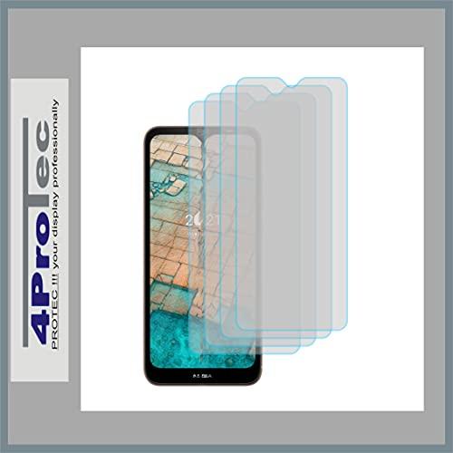 4ProTec   4X Bildschirm-Schutz-Folie KLAR für Nokia G10 Dual SIM
