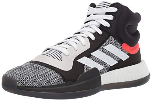 adidas Men's Marquee Boost Low, White/Black/aero...
