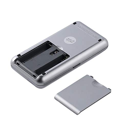 Peanutaoc 500g/0.1g 200g/0.01g Digitaal Elektronisch Draagbaar Zakje Kleine Mini Precieze Sieraden Balans Platform Weegschaal