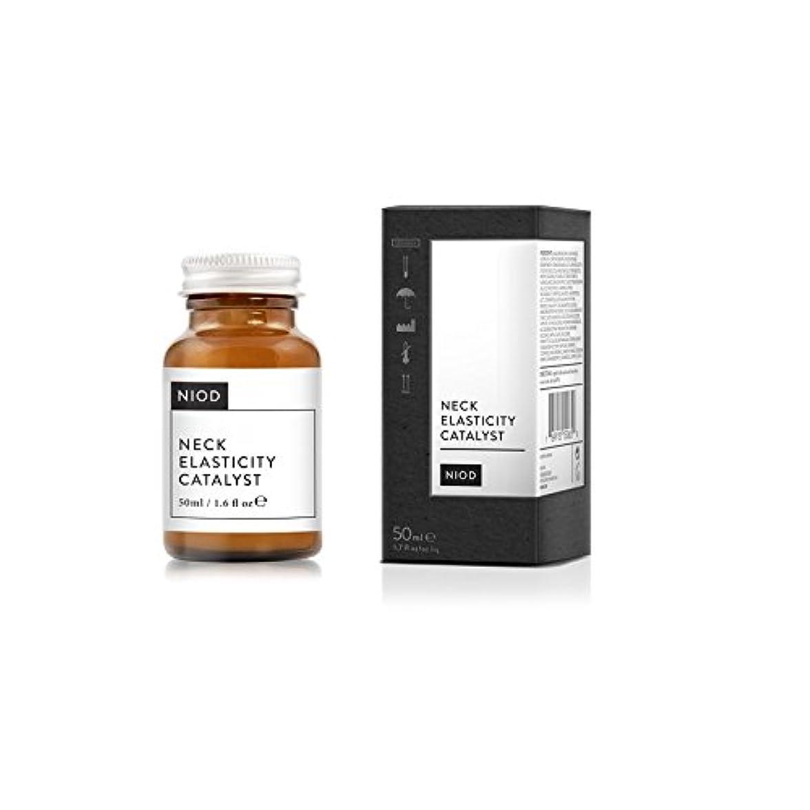 結婚するジャーナリストベンチ弾力性触媒の首血清50ミリリットル x2 - Niod Elasticity Catalyst Neck Serum 50ml (Pack of 2) [並行輸入品]
