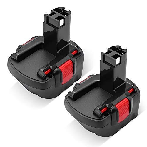 Powerextra 2 stück Ersatzakku 12V 3,5Ah für Bosch GSB 12VE-2 GSR 12 VE-2 PAG 12v PSB 12VE-2 PSR 12VE-2 2607335692 2607335262 2607335542