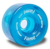 Sure-Grip Fame Artistic Indoor Wheels (Clear Teal)