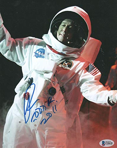 Todd Rundgren REAL hand SIGNED 8x10' Photo BAS COA Autographed