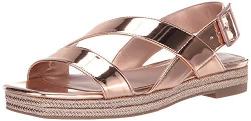 Katy Perry Damen The Lenore Flache Sandale, Rose Gold, 36 EU