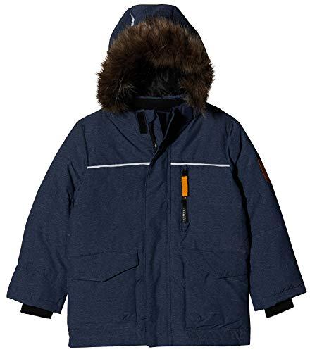 NAME IT Jungen NMMMANSON DOWN Jacket Camp Jacke, Blau (Dark Sapphire Dark Sapphire), (Herstellergröße: 116)