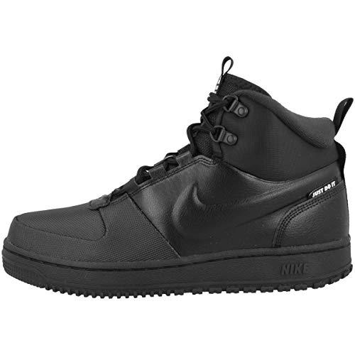 Nike Herren Path Wntr Sneaker, Black/Black-Metallic Pewter, 38.5 EU