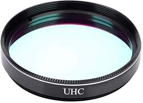 Filtro de Ocular telescópico, Filtro de Lente UHC de 2 Pulgadas con Rosca M45 * 075 mm, Universal para telescopio astronómico