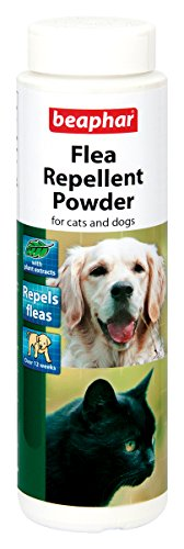 Beaphar Perro y gato repelente de pulgas en polvo 30G (Pack de 6)