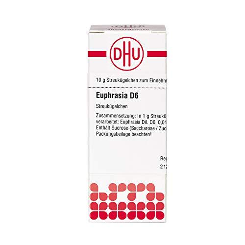 DHU Euphrasia D6 Streukügelchen, 10 g Globuli