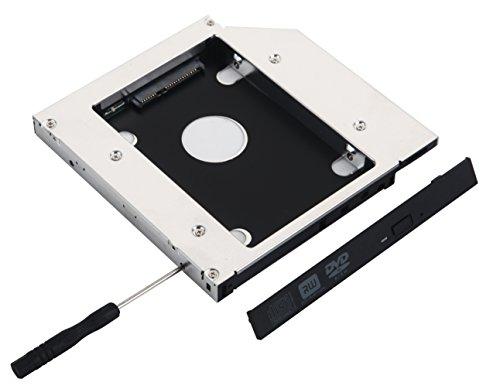 Deyoung 2º adaptador de disco duro SATA SSD de 12,7 mm para ASUS M50V N50V G50V N55S M51va A55V N61 N61J N61Jq N61V N61Vg N61Vn
