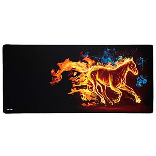 JIALONG Grande Alfombrilla de Ratón Ordenador XXL (900x400x3mm) Speed Gaming Mouse Pad con...