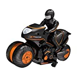 Fine Electric Remote Motorcycle,Kids Motorcycle Electric Remote Control RC Car Mini Motorcycle Electric Toy Car for Toy Gifts (B)