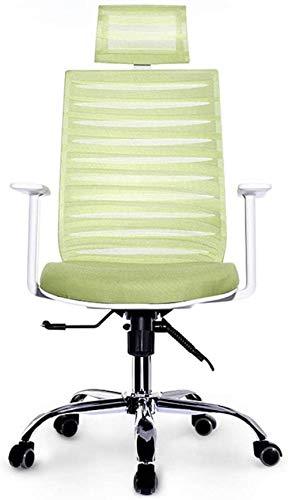 YAMMY Sessel Büroprodukte Computerstuhl- Bürostuhl Schreibtisch Gaming-Stuhl, Ergonomischer, Verstellbarer Racing-Stuhl mit hoher Rückenlehne, Sw (Spielstuhl)