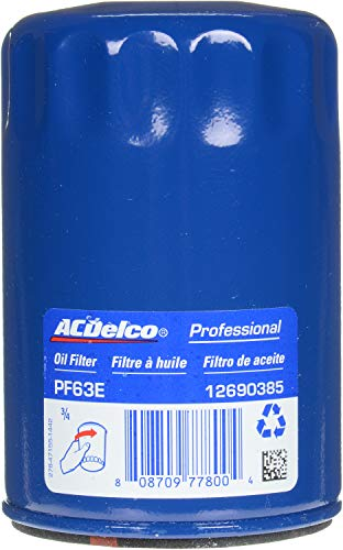 ACDelco PF63E Professional Engine Oil Filter