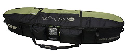Pro-Lite Finless Coffin Surfboard Travel Bag Triple/Quad 7'6