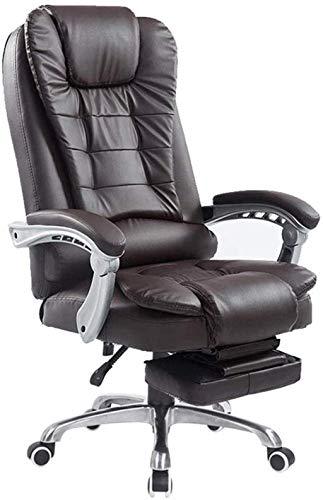 YONGYONGCHONG Bürostuhl, Gaming-Stuhl, Bürostuhl, PU-Rückenlehne, Drehstuhl, Lounge-Stuhl, Arbeitsstuhl, Computerstuhl (Farbe: Stil 3, Größe: mit Fußstütze)