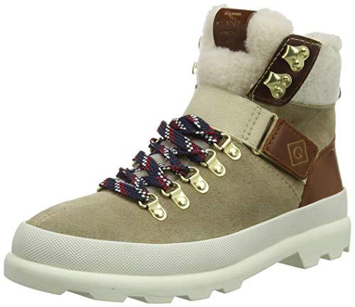 GANT Footwear Damen Westport Stiefeletten, Grau (Taupe G24), 37 EU