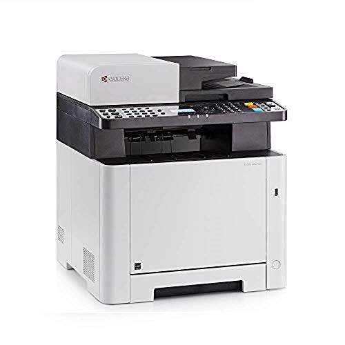 Kyocera Ecosys M5521cdw WiFi All-in-one Colour Laser Multifunction Printer,...