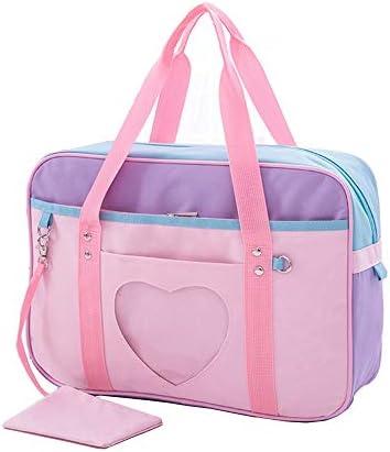 Ita Bag Heart Japanese Bag JK Bag Girls Duffle Purse Anime School Bag Lolita DIY, Cosplay,Comic Con