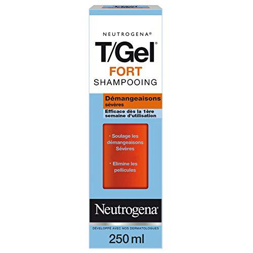 Neutrogena T/GEL Shampoing Démangeaisons Sévères et Antipelliculaire, 250ml