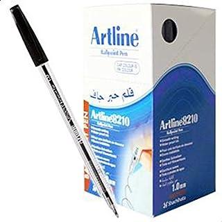 Artline 8210 Ballpoint Pen 1.0mm BLACK (BOX OF 50 PCS)