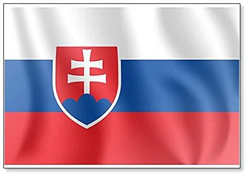 Kühlschrankmagnet, Motiv Waving Flag of Republicia