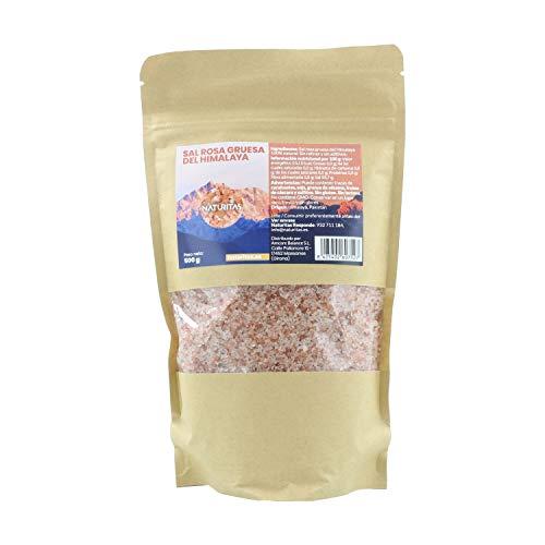 Sal Rosa Gruesa del Himalaya 500 g Naturitas | 100% natural | Sin GMO