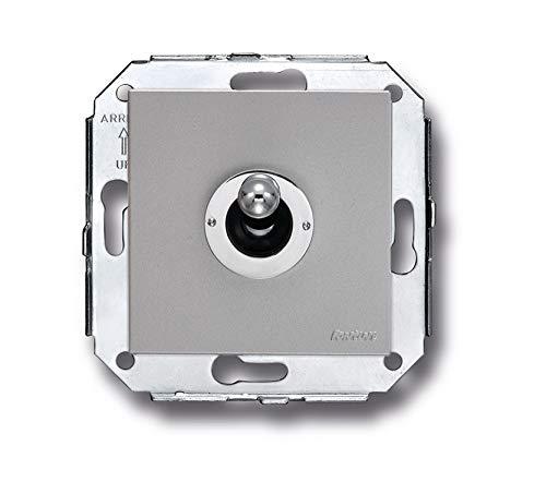 Fontini - Interruptor rocking 10a 250v cromo/cromada metalico/a pack