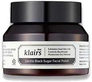 KLAIRS Gentle Black Sugar Facial Polish 110g Wash-off Mask Pack