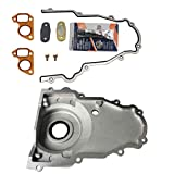 LAFORMO 12633906 Front Timing Chain Cover with gasket kit Compatible with LS2 and LS3 Engines