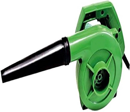 Alexvyan High Speed Pressure Hand Held PC CPU AC Car Bike Electric Plastic Air Blower Dust Cleaner (Green, 500W, 13000 RPM/Min, 1.5 m Cable)