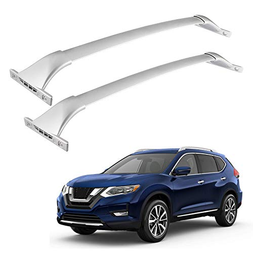 Richeer Roof Rack Cross Bars for 2014-2019 Rogue with Side Rails,Cargo...