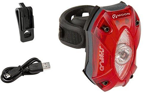 Luz Trasera Moon SHIELD-X USB Recargable 150 L Sensor Automa