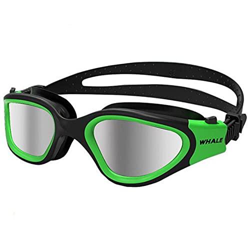 Mcottage Lente De Protección UV Antivaho Profesional para Adultos, Gafas De Natación para Hombres Y Mujeres, Gafas De Natación De Silicona Ajustables Impermeables