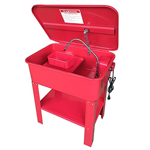 20 Gallon Automotive Parts Washer Cleaner Heavy Duty Electric Solvent Pump