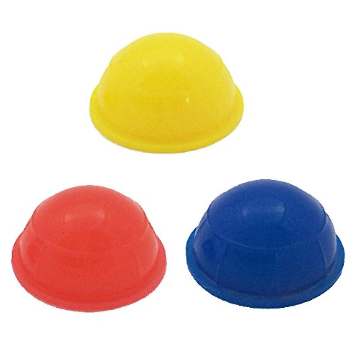 寛解シャット虫超ミニミニ吸い玉 3個セット シリコン製カッピング 直径3.5センチ