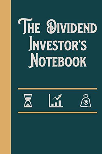 The Dividend Investor's Notebook: Dividend Investor's Vintage Blank Lined Notebook