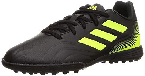 adidas Copa Sense.3 TF J, Zapatillas de fútbol, NEGBÁS/FTWBLA/Amasol, 29 EU