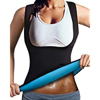 LaLaAreal Faja Reductora Adelgazante Abdominal Mujer Camiseta Sauna Chaleco Neopreno Comprecion para Fitness Postparto …