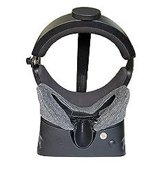 Hecho de material de algodón elástico súper suave, diseño para el Oculus Rift S para mejorar la higiene de la funda Lavable a máquina, fácil de limpiar Fácil de instalar, con 3 correas elásticas y muy fácil de fijar en tu soporte de espuma facial ori...