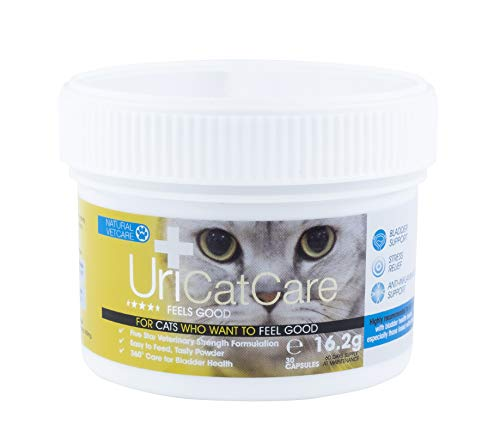 Natural VetCare UriCatCare Veterinary Strength Bladder Supplement for Urinary Health in Cats