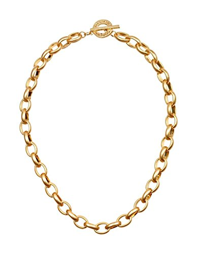 Sence T946 Gliederkette Signature Necklace Worn Gold 46
