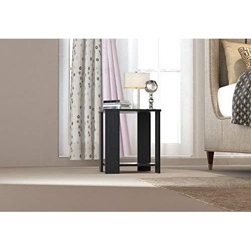 Forzza Bentley Side Table with Storage (Wenge)