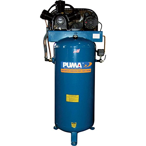 Puma Belt-Drive Stationary Vertical Air Compressor - 60-Gallon Vertical, 4.5 HP, 18 CFM, Model# PK6560VS